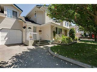"Main Photo: 2 19252 119TH Avenue in Pitt Meadows: Central Meadows Townhouse for sale in ""WILLOW PARK"" : MLS®# V1074542"