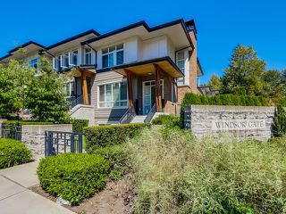 Photo 1: # 1 1125 KENSAL PL in Coquitlam: New Horizons Townhouse for sale : MLS®# V1130701