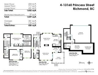 Photo 18: 4 13160 PRINCESS STREET in Richmond: Steveston South Townhouse for sale : MLS®# R2355249