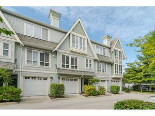 """Main Photo: 32 16388 85 Avenue in Surrey: Fleetwood Tynehead Townhouse for sale in """"Camelot Village"""" : MLS®# R2409995"""