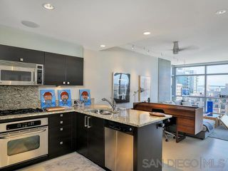 Photo 5: DOWNTOWN Condo for rent : 1 bedrooms : 800 The Mark Ln #1508 in San Diego