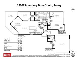 "Photo 2: 12007 S BOUNDARY Drive in Surrey: Panorama Ridge Townhouse for sale in ""Southlake Townhomes"" : MLS®# R2465331"