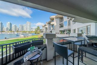 "Photo 3: 205 1859 SPYGLASS Place in Vancouver: False Creek Condo for sale in ""Venice Court-San Remo"" (Vancouver West)  : MLS®# R2514140"