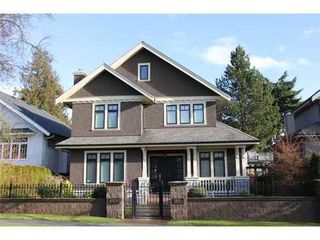 Photo 1: 6520 CYPRESS Street in Vancouver West: South Granville Home for sale ()  : MLS®# V868538