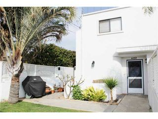 Photo 1: PACIFIC BEACH Townhome for sale : 3 bedrooms : 4257 Gresham Street in San Diego