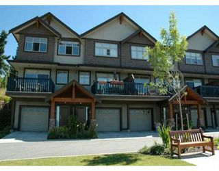 "Photo 1: 24 320 DECAIRE ST in Coquitlam: Maillardville Townhouse for sale in ""OUTLOOK"" : MLS®# V599654"