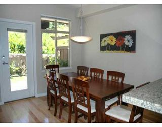 "Photo 3: 24 320 DECAIRE ST in Coquitlam: Maillardville Townhouse for sale in ""OUTLOOK"" : MLS®# V599654"