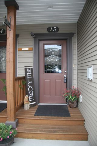 Photo 2: 15 7543 Morrow Road in Agassiz: Townhouse for sale