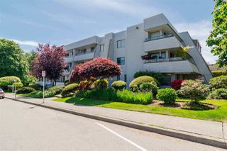 "Photo 1: 104 1341 GEORGE Street: White Rock Condo for sale in ""Oceanview"" (South Surrey White Rock)  : MLS®# R2445816"