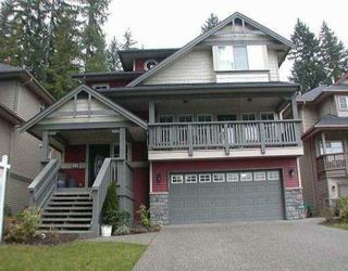 Photo 1: 3289 CANTERBURY LN in Coquitlam: Burke Mountain House for sale : MLS®# V524740