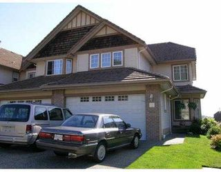 """Main Photo: 11 1751 PADDOCK DR in Coquitlam: Westwood Plateau Townhouse for sale in """"WORTHING GREEN"""" : MLS®# V588279"""