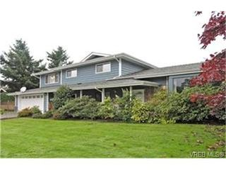 Photo 1: 4132 Mariposa Hts in VICTORIA: SW Strawberry Vale Single Family Detached for sale (Saanich West)  : MLS®# 419041