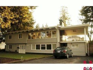 Photo 1: 23078 96TH AV in Langley: Fort Langley House for sale : MLS®# F1417548