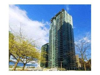 Photo 1: 1705 1328 W PENDER STREET in Vancouver: Coal Harbour Condo for sale (Vancouver West)  : MLS®# V1140766