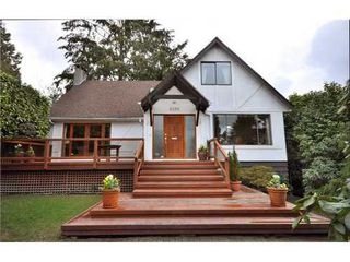 Photo 1: 6158 ALMA Street in Vancouver West: Southlands Home for sale ()  : MLS®# V878565
