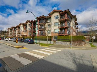 Photo 1: 103 200 KLAHANIE DRIVE in Port Moody: Port Moody Centre Condo for sale : MLS®# R2040361