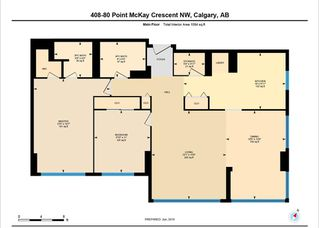 Photo 3: 408 80 Point McKay Crescent NW in Calgary: Point McKay Condo for sale : MLS®# C4276073