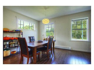 """Photo 5: 57 101 FRASER Street in Port Moody: Port Moody Centre Townhouse for sale in """"CORBEAU"""" : MLS®# V966315"""