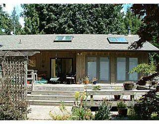 Main Photo: 1190 PAGGIO RD in Roberts_Creek: Roberts Creek House for sale (Sunshine Coast)  : MLS®# V405076