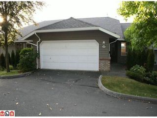 Photo 1: 44 21848 50 in Cedar Crest: Murrayville Home for sale ()  : MLS®# F1200044