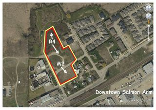 Photo 2: 350-390 Northwest Fraser Avenue in Salmon Arm: Harbourfront District Vacant Land for sale (NW Salmon Arm)  : MLS®# 10116559