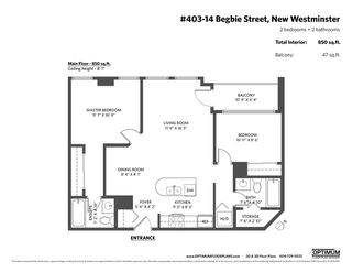 """Photo 20: 403 14 BEGBIE Street in New Westminster: Quay Condo for sale in """"INTERURBAN"""" : MLS®# R2410360"""