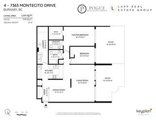 """Photo 2: 4 7363 MONTECITO Drive in Burnaby: Montecito Townhouse for sale in """"Montecito Villa"""" (Burnaby North)  : MLS®# R2481423"""