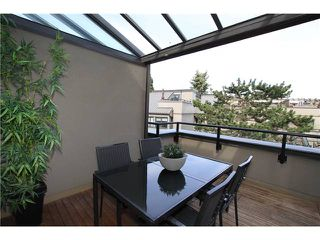 """Photo 10: 850 GREENCHAIN Street in Vancouver: False Creek Townhouse for sale in """"HEATHER POINT"""" (Vancouver West)  : MLS®# V946161"""