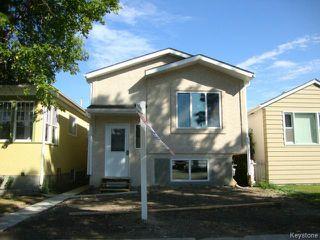 Photo 1: 363 RUTLAND Street in WINNIPEG: St James Residential for sale (West Winnipeg)  : MLS®# 1315826