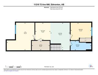 Photo 34: 11218 72 Avenue in Edmonton: Zone 15 House Half Duplex for sale : MLS®# E4191392