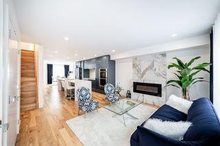 Photo 1: 11218 72 Avenue in Edmonton: Zone 15 House Half Duplex for sale : MLS®# E4191392