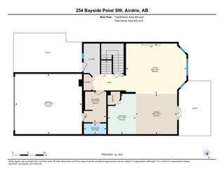 Photo 38: 254 BAYSIDE Point SW: Airdrie Detached for sale : MLS®# A1037560