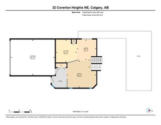 Photo 30: 32 Coverton Heights NE in Calgary: Coventry Hills Detached for sale : MLS®# A1046669