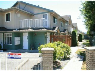 """Photo 1: 8 20258 MICHAUD Crescent in Langley: Langley City Townhouse for sale in """"TUDOR PLACE"""" : MLS®# F1318001"""