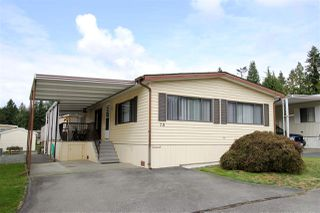 "Photo 1: 78 2315 198 Street in Langley: Brookswood Langley Manufactured Home for sale in ""Deer Creek Estates"" : MLS®# R2492888"