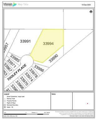 Photo 1: 33994 TOOLEY Place in Mission: Mission BC Land for sale : MLS®# R2496213