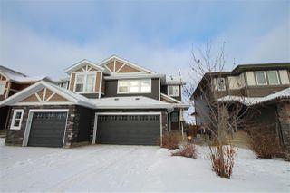 Photo 1: 21820 91 Avenue in Edmonton: Zone 58 House Half Duplex for sale : MLS®# E4223589