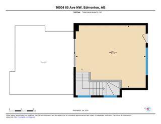 Photo 30: 10504 85 Avenue in Edmonton: Zone 15 House Half Duplex for sale : MLS®# E4173956