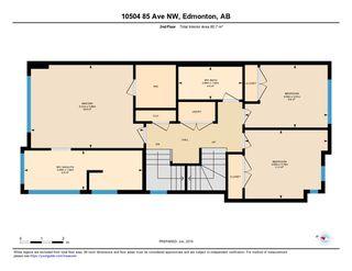 Photo 29: 10504 85 Avenue in Edmonton: Zone 15 House Half Duplex for sale : MLS®# E4173956