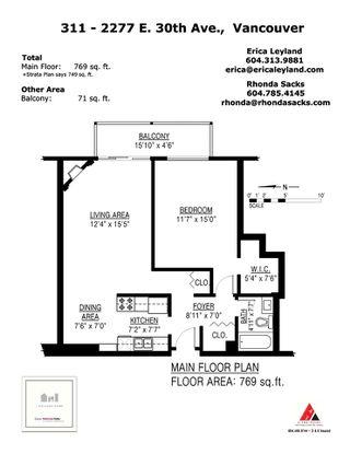 "Photo 20: 311 2277 E 30TH Avenue in Vancouver: Victoria VE Condo for sale in ""Twin Court"" (Vancouver East)  : MLS®# R2484205"
