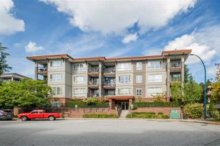 "Main Photo: 308 2473 ATKINS Avenue in Port Coquitlam: Central Pt Coquitlam Condo for sale in ""VALORE ON THE PARK"" : MLS®# R2501965"