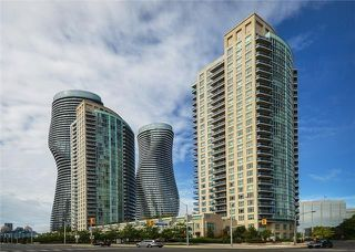 Photo 1: 90 Absolute Ave Unit #606 in Mississauga: City Centre Condo for sale : MLS®# W3402364