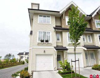 "Photo 1: 37 20560 66TH AV in Langley: Willoughby Heights Townhouse for sale in ""AMBERLEIGH"" : MLS®# F2516772"