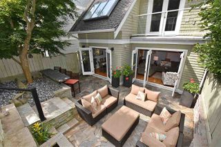 Photo 1: 1545 TRAFALGAR STREET in Vancouver: Kitsilano Townhouse for sale (Vancouver West)  : MLS®# R2392914