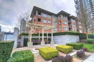 "Main Photo: 114 3097 LINCOLN Avenue in Coquitlam: New Horizons Condo for sale in ""LARKIN HOUSE"" : MLS®# R2436742"