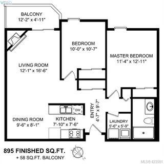Photo 12: 106 1655 Begbie Street in VICTORIA: Vi Fernwood Condo Apartment for sale (Victoria)  : MLS®# 423581
