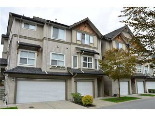 "Photo 1: 46 1055 RIVERWOOD GATE Gate in Port Coquitlam: Riverwood Townhouse for sale in ""MOUNTAINVIEW"" : MLS®# V945381"
