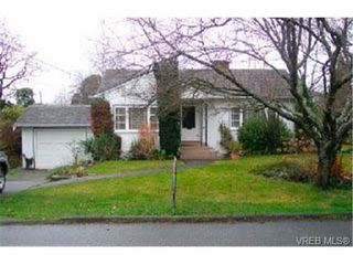 Photo 1: 1246 Palmer Rd in VICTORIA: SE Maplewood Single Family Detached for sale (Saanich East)  : MLS®# 300687
