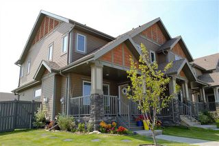 Photo 2: 145 HAWKS RIDGE BV NW: Edmonton House Half Duplex for sale : MLS®# E4123396