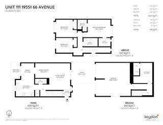 "Photo 2: 111 19551 66 Avenue in Surrey: Clayton Townhouse for sale in ""Manhattan Skye"" (Cloverdale)  : MLS®# R2400737"
